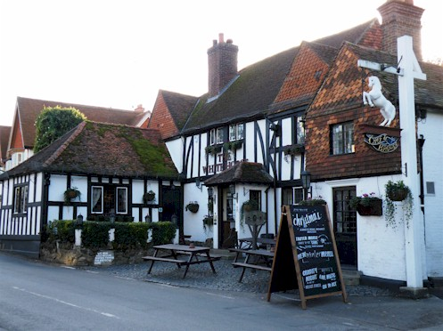 The white horse in shere use surrey telephone engineer