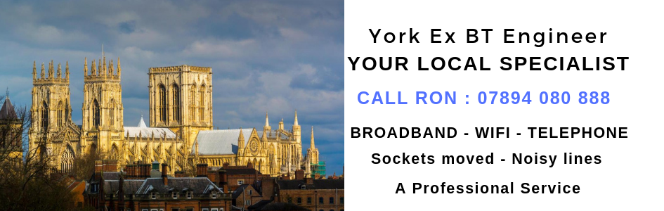 York Ex BT telephone engineer
